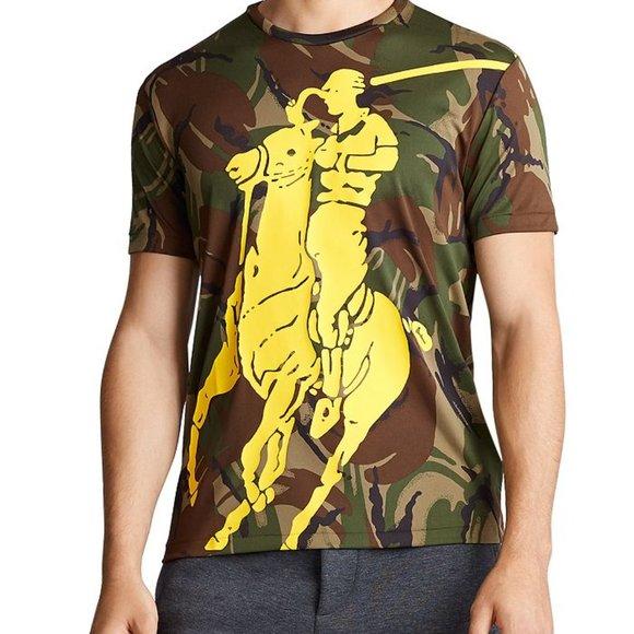 Polo Ralph Lauren Mens T-shirt Performance